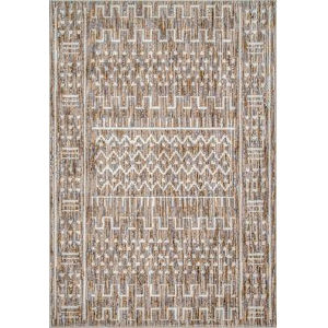 Tribal Della Ivory Rectangular: 5 Ft. 3 In. x 7 Ft. 7 In. Rug