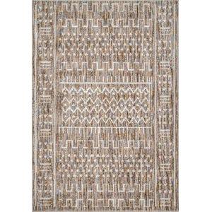 Tribal Della Ivory Rectangular: 6 Ft. 7 In. x 9 Ft. Rug