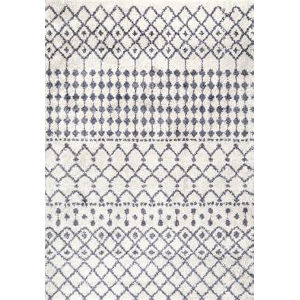 Moroccan Barbara Beige Rectangular: 7 Ft. 10 In. x 10 Ft. Rug