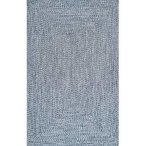 Lefebvre Light Blue Rectangular: 3 Ft. x 5 Ft. Rug