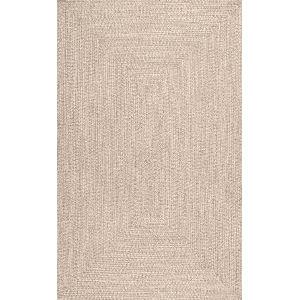 Lefebvre Tan Rectangular: 7 Ft. 6 In. x 9 Ft. 6 In. Rug