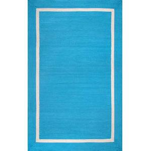 Braided Gwenyth Blue Rectangular: 5 Ft. x 8 Ft. Rug
