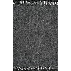 Braided Courtney Charcoal Runner: 2 Ft. 6 In. x 8 Ft.