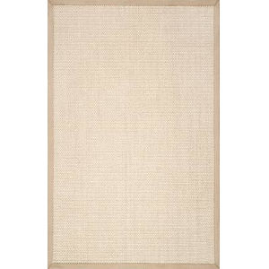 Natural Elaine Chino Rectangular: 8 Ft. x 10 Ft. Rug