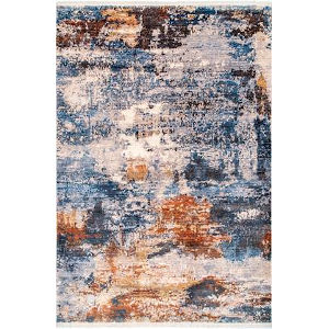 Ambria Abstract Multicolor Rectangular: 5 Ft. x 7 Ft. 9 In. Rug