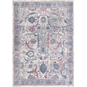 Vintage Sonia Persian Blue Rectangular: 5 Ft. 3 In. x 7 Ft. 7 In. Rug