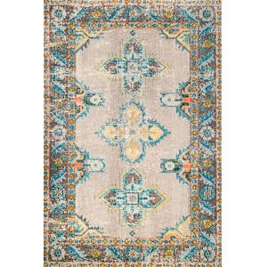 Vintage Karen Persian Blue Runner: 2 Ft. 6 In. x 8 Ft.