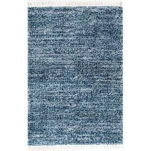 Brooke Blue Rectangular: 5 Ft. 3 In. x 7 Ft. 7 In. Rug