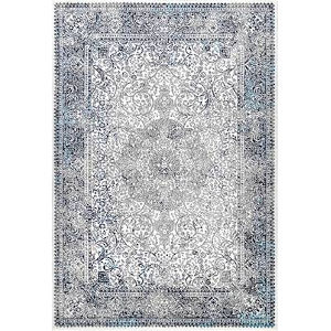 Persian Delores Blue Rectangular: 6 Ft. 7 In. x 9 Ft. Rug