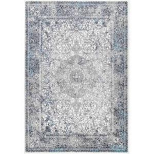 Persian Delores Blue Rectangular: 8 Ft. x 10 Ft. Rug