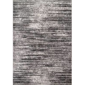 Faded Elsa Gray Rectangular: 6 Ft. 7 In. x 9 Ft. Rug