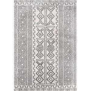 Hurley Tribalgy Ivory Rectangular: 10 Ft. x 14 Ft. Rug