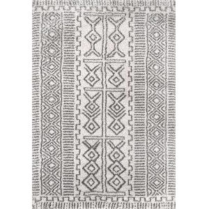 Hurley Tribalgy Ivory Rectangular: 6 Ft. 7 In. x 9 Ft. Rug
