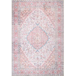 Medallion Patsy Pink Rectangular: 8 Ft. 4 In. x 11 Ft. 6 In. Rug