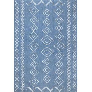 Serna Blue Rectangular: 3 Ft. 9 In. x 5 Ft. 7 In. Rug