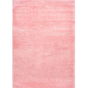Gynel Cloudy Baby Pink Rectangular: 9 Ft. 2 In. x 12 Ft. Rug