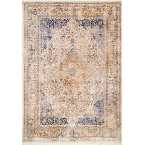 Vintage Roxie Blue Rectangular: 4 Ft. x 6 Ft. 3 In. Rug