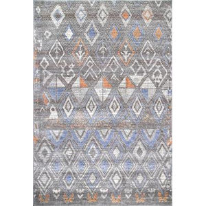 Marcella Trellis Gray Rectangular: 4 Ft. x 6 Ft. Rug