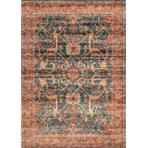 Persian Jenni Blue Rectangular: 8 Ft. x 10 Ft. Rug