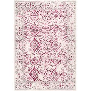 Vintage Odell Pink Rectangular: 8 Ft. x 10 Ft. Rug