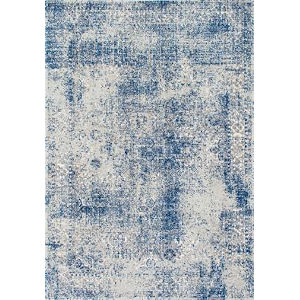 Vintage Willena Blue Rectangular: 9 Ft. 10 In. x 14 Ft. Rug