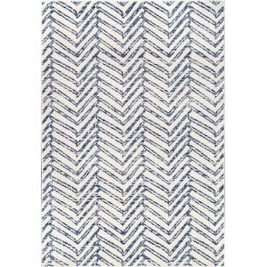 Rosanne Blue Rectangular: 6 Ft. 7 In. x 9 Ft. Rug