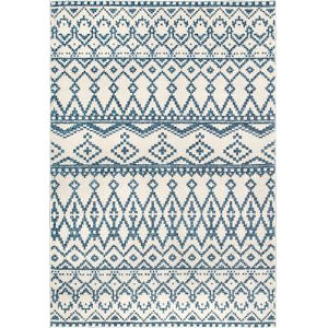 Ronnie Blue Rectangular: 6 Ft. 7 In. x 9 Ft. Rug