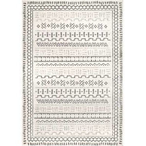 Vintage Cindi Beige Rectangular: 6 Ft. 7 In. x 9 Ft. Rug