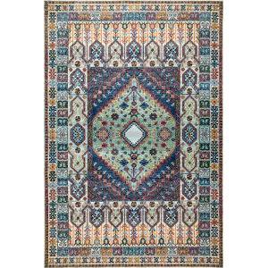 Vintage Lorie Multicolor Rectangular: 4 Ft. x 6 Ft. Rug