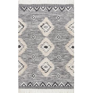 Savannah Moroccan Gray Runner: 2 Ft. 8 In. x 6 Ft.