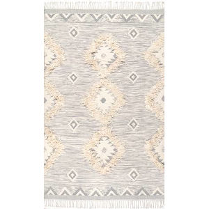 Savannah Moroccan Light Gray Rectangular: 7 Ft. 6 In. x 9 Ft. 6 In. Rug