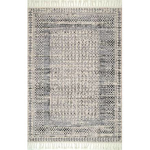 Claudia Gray Multicolor Rectangular: 6 Ft. x 9 Ft. Rug