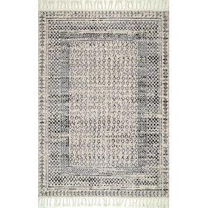 Claudia Gray Multicolor Rectangular: 7 Ft. 6 In. x 9 Ft. 6 In. Rug