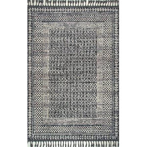 Claudia Ivory Multicolor Rectangular: 7 Ft. 6 In. x 9 Ft. 6 In. Rug