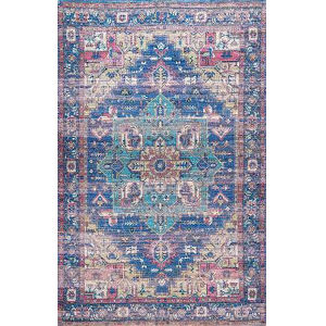 Melinda Blue Rectangular: 7 Ft. 6 In. x 9 Ft. 6 In. Rug