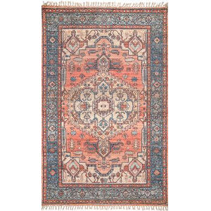 Andrea Multicolor Rectangular: 5 Ft. x 8 Ft. Rug