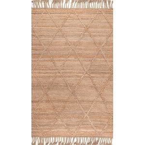Arienne Jute Natural Rectangular: 5 Ft. x 8 Ft. Rug