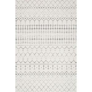 Blythe Grey Rectangular: 6 Ft. 7 In. x 9 Ft.