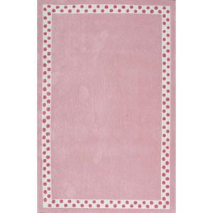 Pink Rectangular: 3 Ft. 6 In. x 5 Ft. 6 In. Rug
