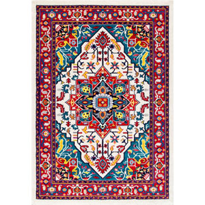 Multicolor Rectangular: 4 Ft. 1 In. x 6 Ft. Rug