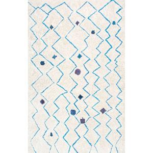 Blue Rectangular: 5 Ft. x 8 Ft. Rug