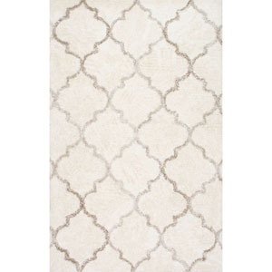 Cream Rectangular: 5 Ft. x 8 Ft. Rug