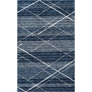 Blue Rectangular: 5 Ft. x 8 Ft. Rug