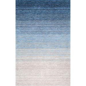 Blue Rectangular: 4 Ft. x 6 Ft. Rug