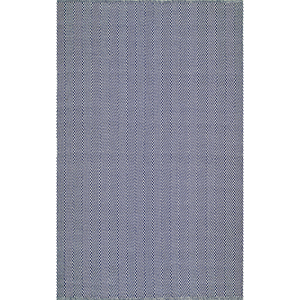 Navy Hand Loomed Kimberely Rectangular: 3 Ft. x 5 Ft.