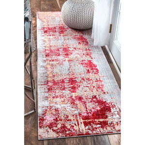 Red Runner: 2 Ft. 6 In. x 8 Ft. Rug