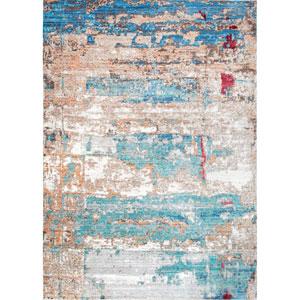 Blue Runner: 2 Ft. 6 In. x 8 Ft. Rug