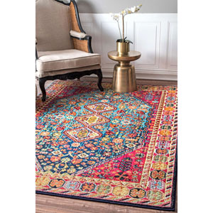 Multicolor Rectangular: 5 Ft. 3 In. x 7 Ft. 7 In. Rug