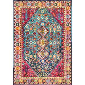 Multicolor Rectangular: 7 Ft. 10 In. x 11 Ft. Rug