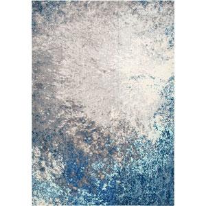 Blue Rectangular: 5 Ft. 3 In. x 7 Ft. 7 In. Rug